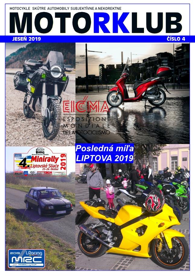 MOTORKLUB 4/2019 21.12.2019